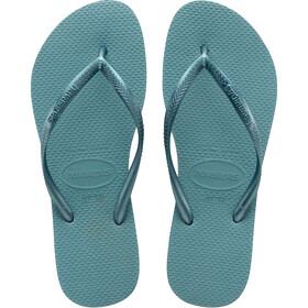 havaianas Slim - Sandales Femme - bleu